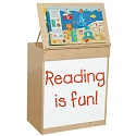 Click here for more Big Book Display & Storage by Wood Designs by Worthington