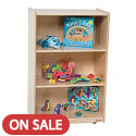 Click here for more Mobile Bookshelf Storage by Wood Designs by Worthington