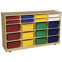 Click here for more Bin Storage Cabinets by Wood Designs by Worthington