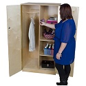 Click here for more Wardrobe & Teachers Storage Cabinets by Worthington