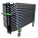 Click here for more XpressPort Slant-Stack Table Truck by Mity-lite by Worthington