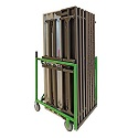 Click here for more XpressPort Space-Saver Table Truck - Single Load by Mity-Lite by Worthington