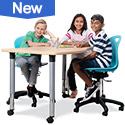 Shop Virco 5000 Adjustable Height Activity Tables for Classroom or Office