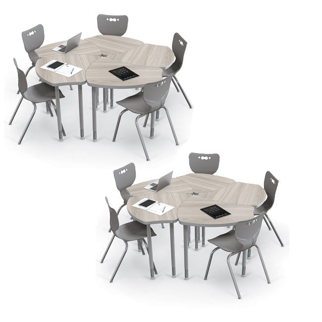 10-pack-economy-shapes-desk-hierarchy-chair-package-gray-elm-laminate-desk-12-h-chairs