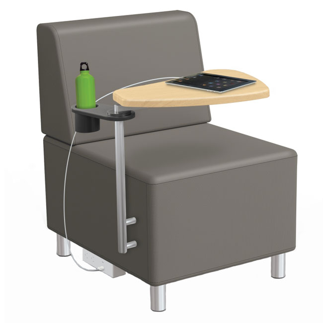 Strange Armless Chair With Back Tablet Arm Ibusinesslaw Wood Chair Design Ideas Ibusinesslaworg