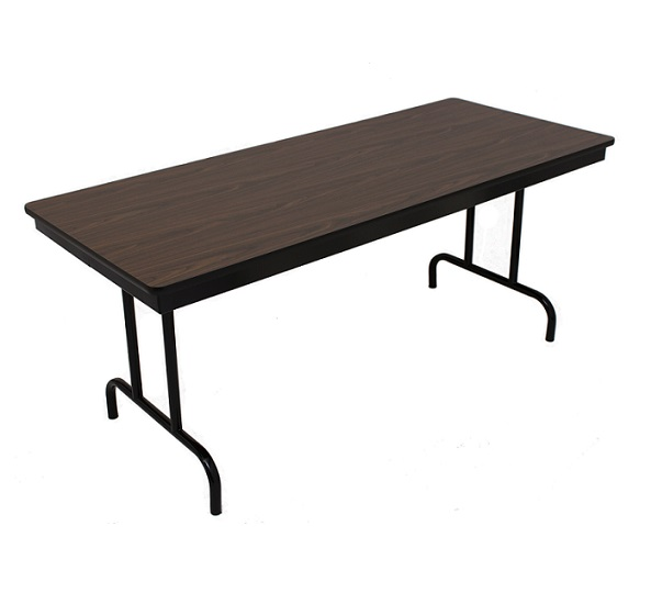 Barricks fixed height folding table 18 x 96 100 3p for 100 table height