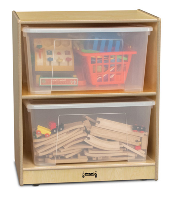 1338jc-single-jumbo-mobile-tote-storage-unit-with-clear-totes-lids