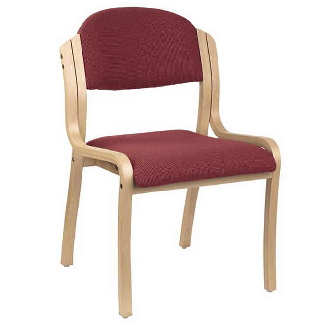 1920-wood-frame-padded-stack-chair-designer-fabric