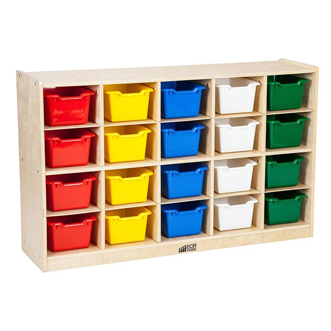 Exceptionnel Elr 0426 As Birch Cubby Tray Cabinet 20