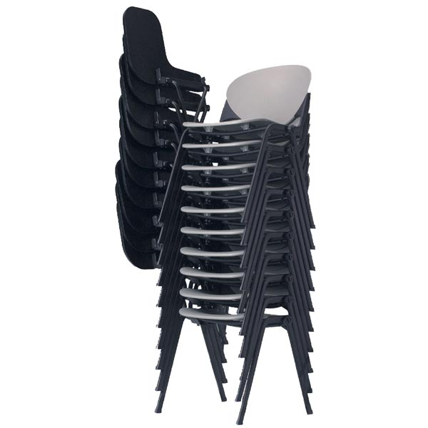 Fine Kfi Seating Stack Chair With P Tablet Arm 2000Ta Plastic Alphanode Cool Chair Designs And Ideas Alphanodeonline