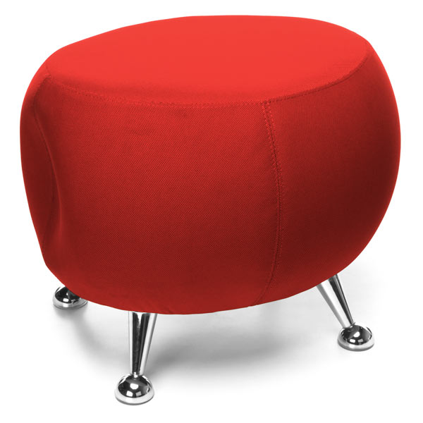 Jupiter Stool in Red by OFM