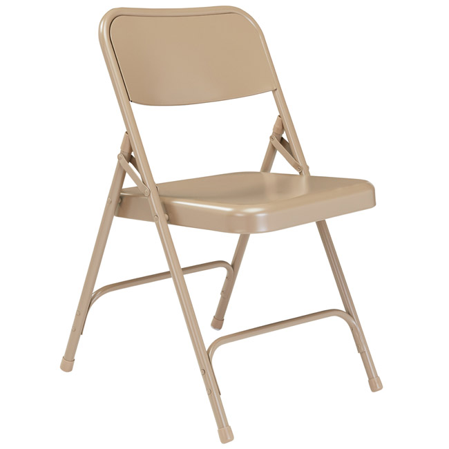 201-beige-18-gauge-steel-folding-chair-with-double-hinge