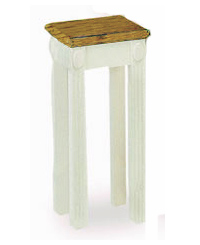 tfs605-32hx14wx14d-white-w-35-light-oak-top-colonial-style-flower-stand