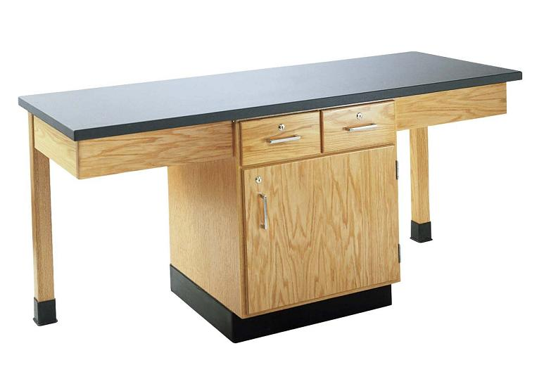 2206k-twostudent-science-table-epoxy-resin-top-w-door-drawers