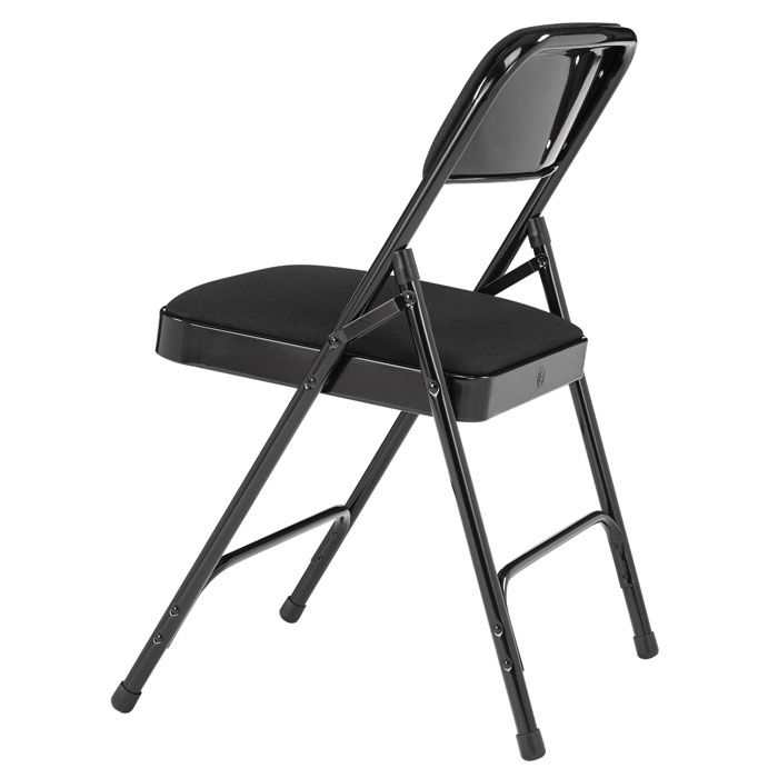 National Public Seating Padded Folding Chair W Double