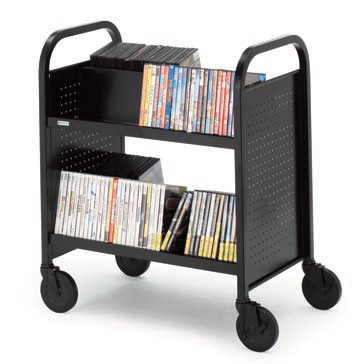 boov5-doublesided-upsable-booktruck-w-2-slanted-shelves-28-w
