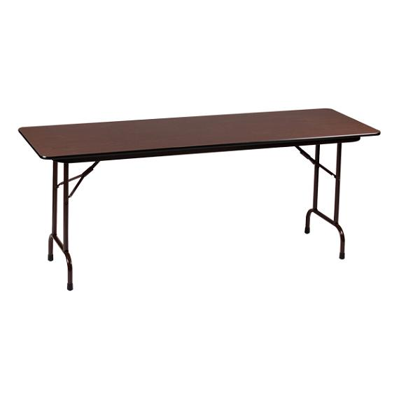 correll adjustable height folding table 24 x 72 cfa2472px folding tables worthington. Black Bedroom Furniture Sets. Home Design Ideas