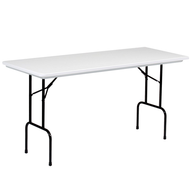 Correll Anti Microbial 30 X 72 X 36 H Counter Height Gray