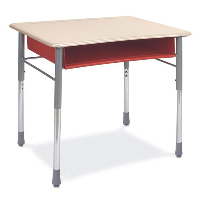 Virco 280opnm Iq Series Student Desk W Solid Plastic Top