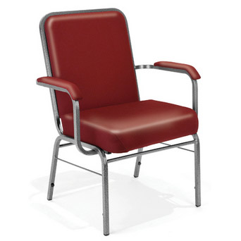 Stupendous Ofm Anti Microbial Vinyl Big And Tall Stacking Arm Chair By Creativecarmelina Interior Chair Design Creativecarmelinacom