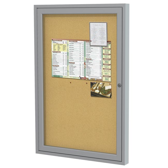 pa12418k-24hx18w-one-door-indoor-aluminum-frame-enclosed-bulletin-board