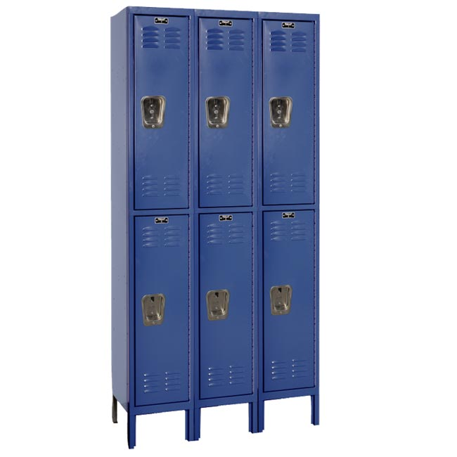 u32282a-12wx12dx36h-fully-assembled-double-tier-lockers-3sections-wide-6-openings