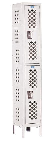 u1818-2hv-a-heavy-duty-ventilated-double-tier-1-wide-locker-assembled-18-w-x-21-d-x-36-h