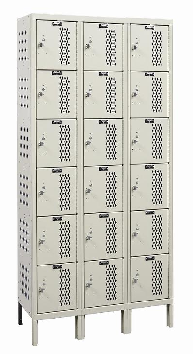u3288-6hv-a-heavy-duty-ventilated-six-tier-3-wide-locker-assembled-12-w-x-18-d-x-12-h