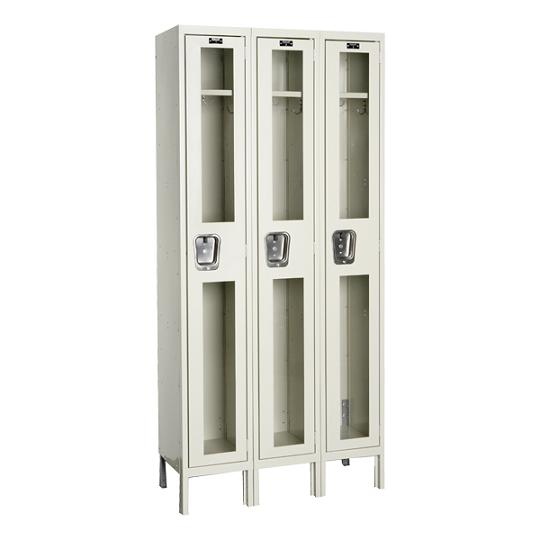 usv32881-safety-view-threewide-singletier-locker-unassembled-12-w-x-18-d-x-72-h-opening