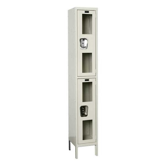 usv12882-safety-view-onewide-doubletier-locker-unassembled-12-w-x-18-d-x-36-h-opening
