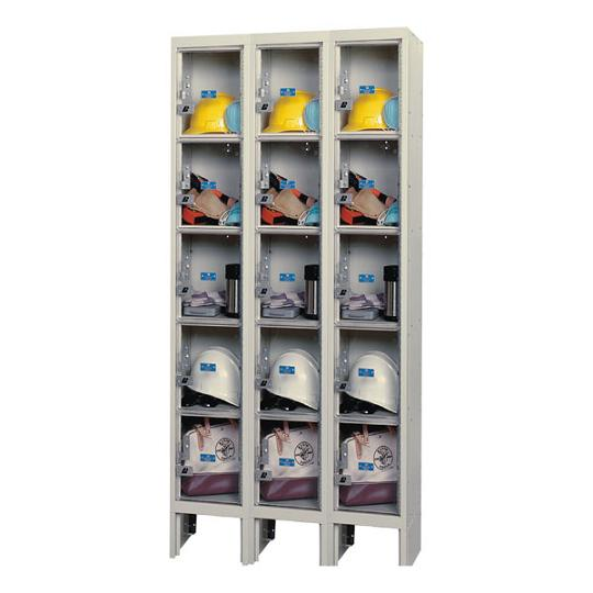 usvp32865-safety-view-threewide-fivetier-locker-unassembled-12-w-x-18-d-x-12-h-opening
