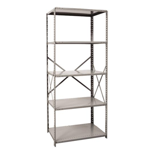 551024-heavyduty-open-shelving-starter-unit-w-5-shelves-36-w-x-24-d