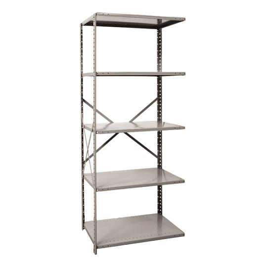 a471012-mediumduty-open-shelving-adder-unit-w-5-shelves-48-w-x-12-d