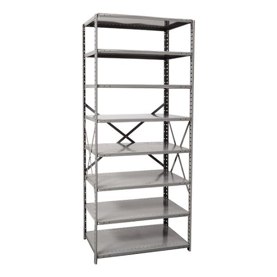 551324-heavyduty-open-shelving-starter-unit-w-8-shelves-36-w-x-24-d