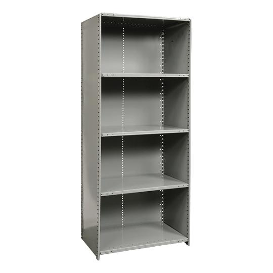 572012-heavyduty-closed-shelving-starter-unit-w-5-shelves-48-w-x-12-d