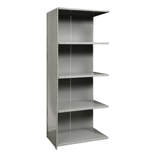 a552024-heavyduty-closed-shelving-adder-unit-w-5-shelves-36-w-x-24-d