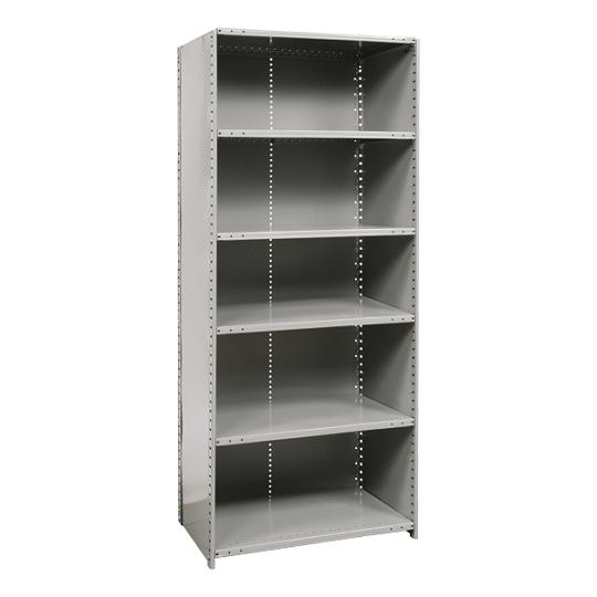 772112-extra-heavyduty-closed-shelving-starter-unit-w-6-shelves-48-w-x-12-d