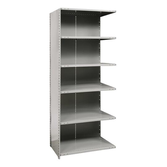 a572118-heavyduty-closed-shelving-adder-unit-w-6-shelves-48-w-x-18-d