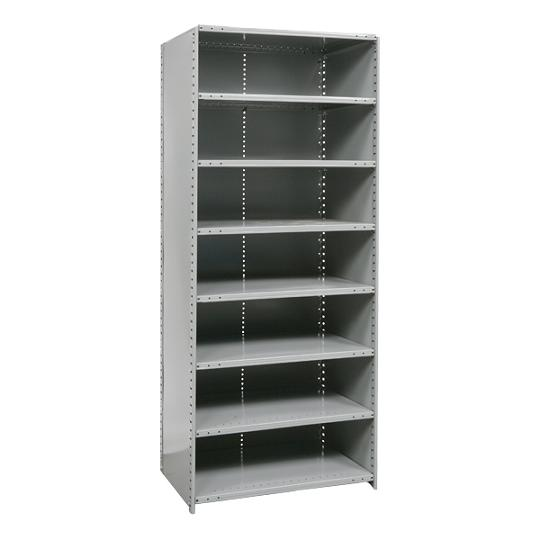 552324-heavyduty-closed-shelving-starter-unit-w-8-shelves-36-w-x-24-d