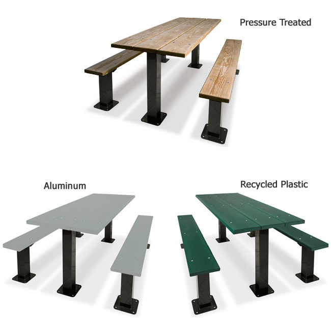 traditional-multi-pedestal-picnic-table-by-ultraplay