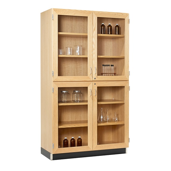 split-level-storage-cabinet-with-glass-doors-by-diversified