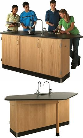 2944kf-forward-vision-2-workstation-with-solid-phenolic-resin-top-wo-sink
