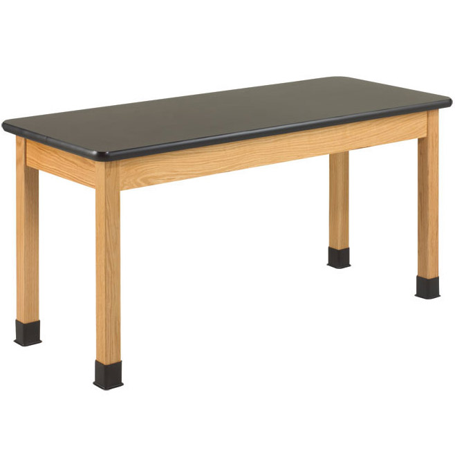 p7301k30n-24d-x-72w-black-laminate-top-oak-science-table
