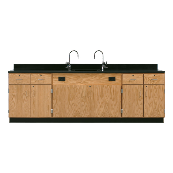 3226k-diversified-woodcrafts-doordrawer-wall-service-bench-with-solid-epoxy-top