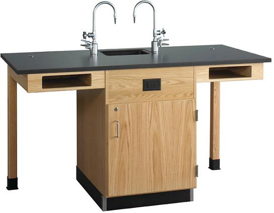 c2716k-diversified-woodcrafts-two-student-service-island-with-cupboard