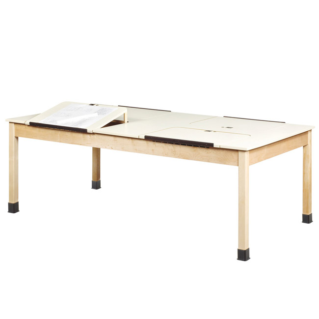 dt90pl-fourstation-drafting-table