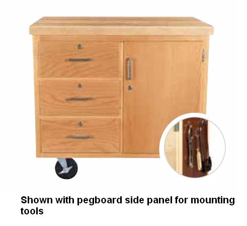 wmsc3735bl-mobile-drawer-tool-cabinet-w-pegboard-chemguard-top