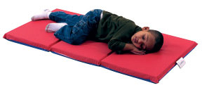 cf400-524rb-3-fold-rest-mat-1-thick-red-blue-10-pack