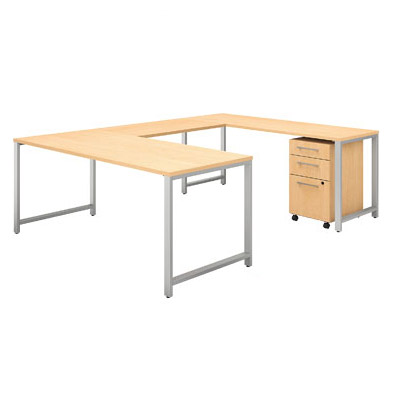 400s16-400-series-u-shaped-desk-with-mobile-file-cabinet-60-w