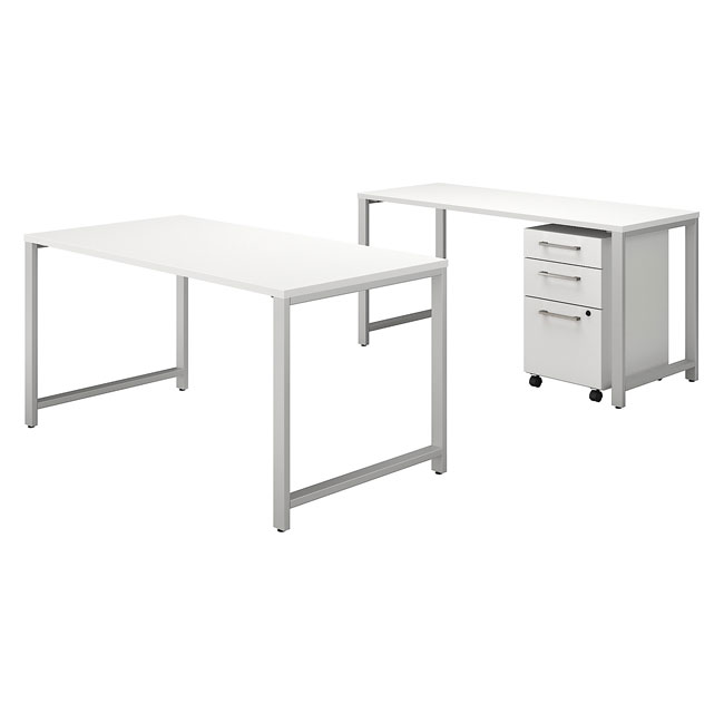 400-series-table-desk-with-credenza-and-3-drawer-mobile-file-cabinet-by-bush-business-furniture